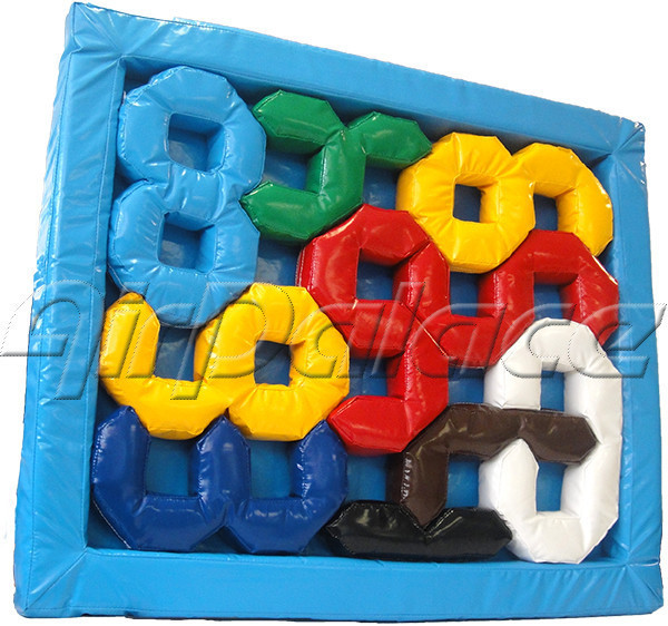 Цифровой пазл - мягкая головоломка для детей 1,3*1,1*0,1 м
