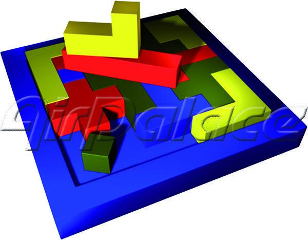 Эрудит - мягкая детская головоломка 1,5*1,5*0,1 м