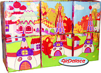 Кубики В гостях у сказки - мягкий пазл с картинками 0,9*0,6*0,3 м