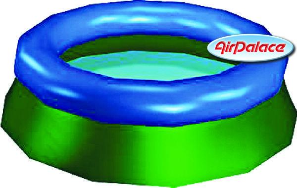 Надувной бассейн дачный 6 м, высота 1,5 м