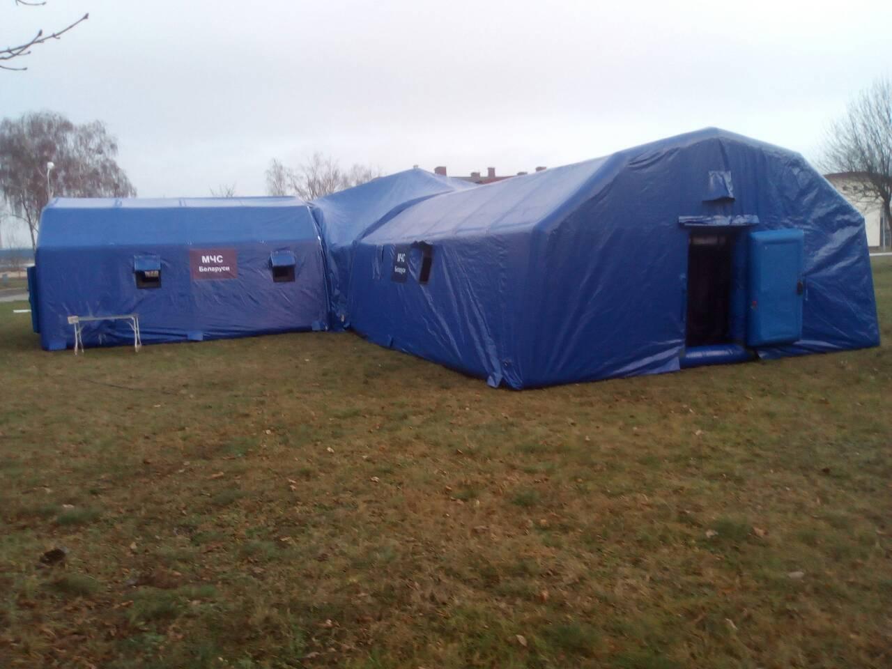 Палатка МЧС 6*6*3,4 м