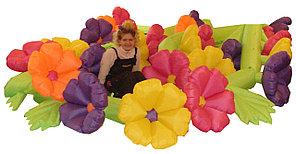 Гирлянда цветов Сказочная с эффектом раскрытия 10 м