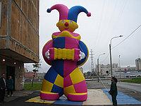 Надувная фигура Петрушка 3 м