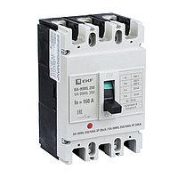 Выключатель автоматический ВА-99МL, 3P, 250/160A, 20kA_EKF Basic