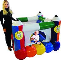 Надувной детский батут Коробка с карандашами 1,5*1,5*1,2 м по акции