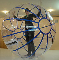 Аквазорб/Водный шар 2 м, материал ТПУ, молния Tizip, фото 1