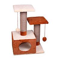 Когтеточка - лежанка домик Настенька 7 Котиков