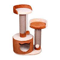 Когтеточка - лежанка домик Нэсси 7 Котиков