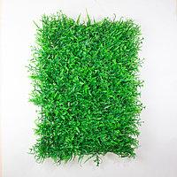 Коврик Микс растений искусственный, (L60см, W40см), зеленый