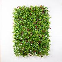 Коврик Туя, Ягоды искусственный, (L60см, W40см), светло-зеленый