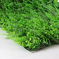 Коврик Эвкалипт, Папоротник искусственный, (L60см, W40см), ярко-зеленый