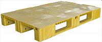 Паллет 1200*800*150мм желтый