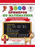 3000ПримеровДляНачШколы 3000 примеров по математике 2кл. Табличное умножение и деление Разные уровни