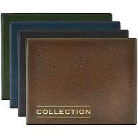 Альбом для монет OfficeSpace 245*190 на кольцах, 10 листов с разделителями, ПВХ + изолон