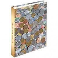 Альбом для монет OfficeSpace Optima 230*270 на кольцах без листов ламинированный картон