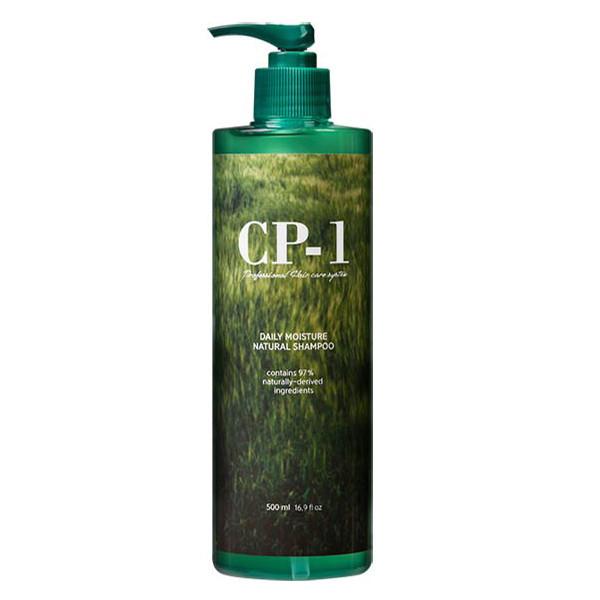 Увлажняющий шампунь с зеленым чаем Esthetic House CP-1 Daily Moisture Natural Shampoo, 500мл.