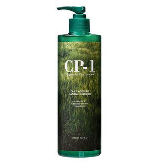 Увлажняющий шампунь с зеленым чаем Esthetic House CP-1 Daily Moisture Natural Shampoo, 500мл., фото 2