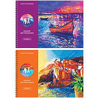 Альбом для рисования 24л А4 на гребне ArtSpace Живопись