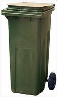Мусорный контейнер п/э (120л), зеленый