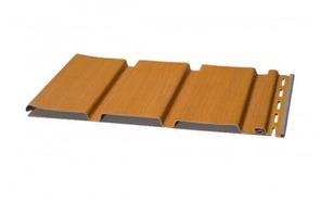 Софит виниловый 0,3x2,70 м (0,81 м2) Дуб медовый без перфорации SVP-08 NATURE