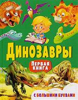 Владис Детская энциклопедия Динозавры Первая книга с большими буквами Е.Н.Гриценко 96 стр