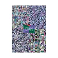 """Бизнес-блокнот А4 80л. Hatber """"Color mosaic"""", 5-ти цветный блок, матовая ламинация"""