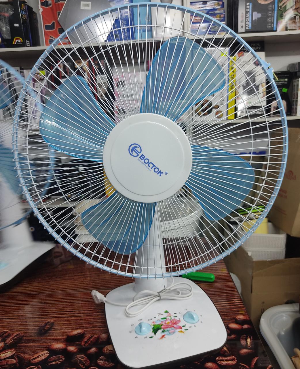 Вентилятор настольный Восток