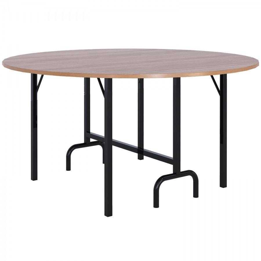 Стол с раскладными ножками (d 1500)