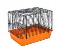 Клетка для мелких грызунов Стюарт-2, складная, 2 этажа / Дарэлл, 43*31*33,5см