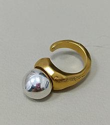 Кольцо СО / серебро / 19 размер