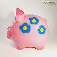 """Копилка """"Свинка"""", глянец, розовый цвет, 19 см, микс"""