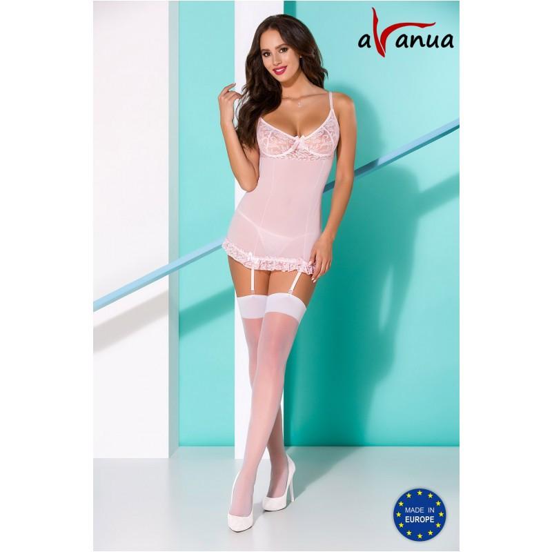 """Сорочка """"RABIA CHEMISE"""" pink - Avanua, размер S/M"""