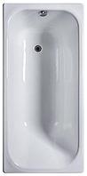 Ванна из чугунного литья эмаль. в комп. с установ. арматурой 150*70мм Оптима-У (Оптима-1500), фото 1