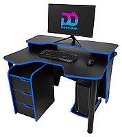Стол DreamDesk ARENA-BLACK/BLUE