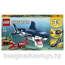 LEGO конструктор 3 в 1 Обитатели морских глубин Creator 31088