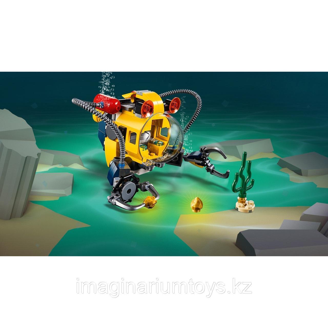 Конструктор LEGO Creator 3 в 1 Робот для подводных исследований 31090 - фото 4