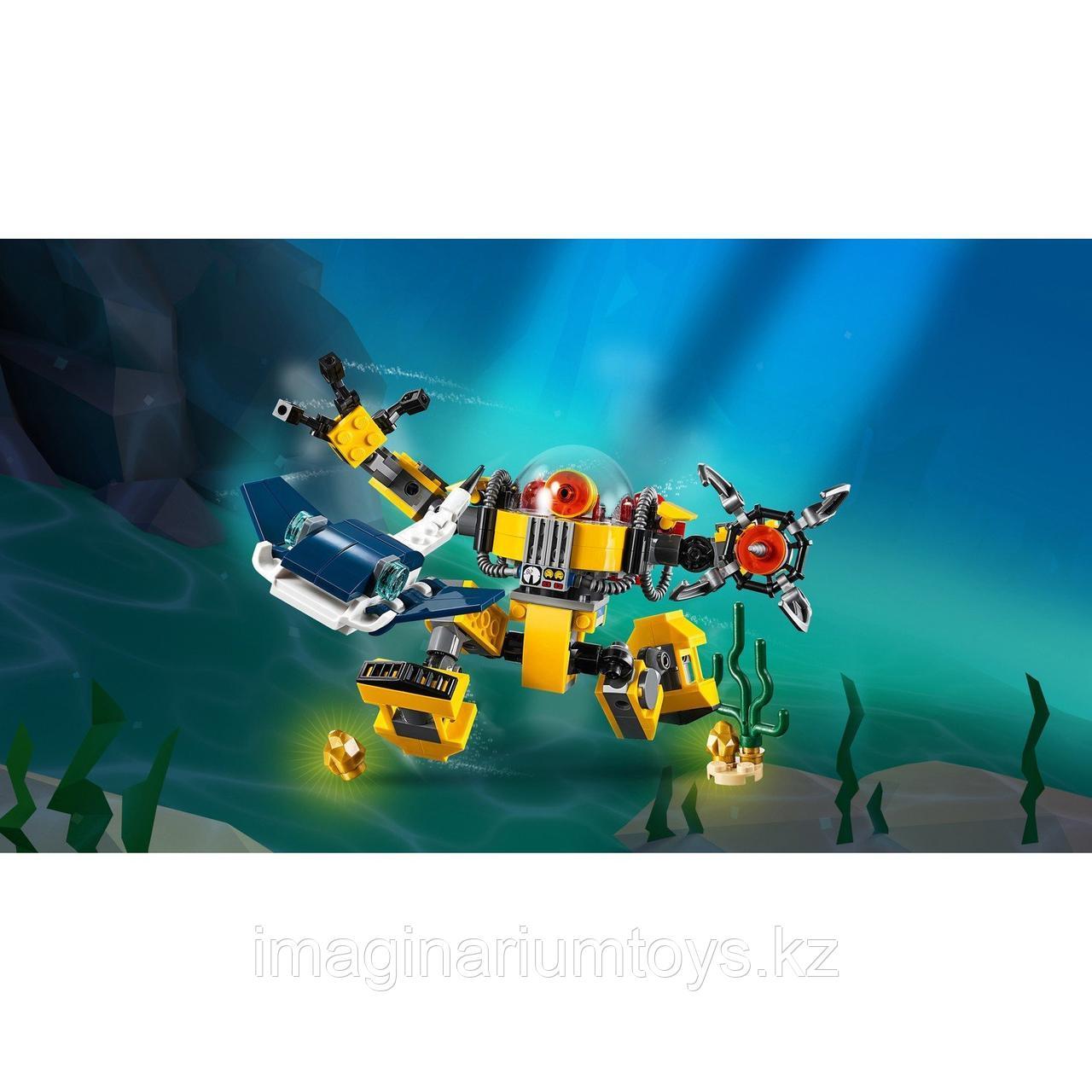 Конструктор LEGO Creator 3 в 1 Робот для подводных исследований 31090 - фото 5
