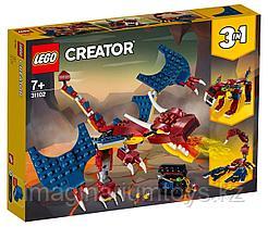 Конструктор LEGO Creator 3 в 1 Огненный дракон 31102