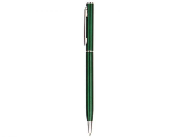 Ручка металлическая зеленая