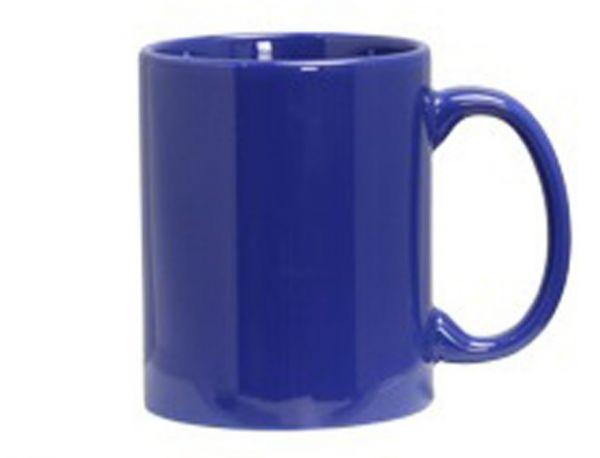 Керамическая кружка (синяя)