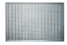 Стальные решетки с ячейкой 33x11 мм