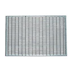 Решетка стальная 500x1000x20 мм (ячейка 33x11 мм)