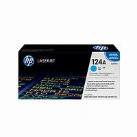 Лазерный картридж HP 124A (Оригинальный, Голубой - Cyan) Q6001A