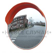 Дорожное сферическое зеркало с козырьком диаметром 800мм