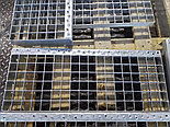 Прессованная ступень 800x240 мм (полоса 30x2 мм) (ячейка 33x33 мм), 4,1кг, фото 2