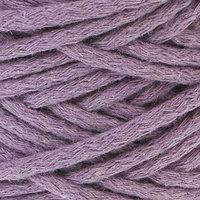 Шнур для вязания 100 хлопок, ширина 5 мм 100м/450гр (сиреневый)