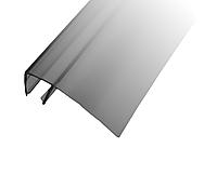 Профиль DG-6 уплотнительный прозрачный черный L-2200 мм. для раздвижной душевой, ус 16 мм. | FGD-98 BL