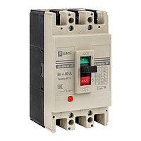 Выключатель автоматический ВА-99M, 3P, 63/40A, 25kA_EKF PROxima