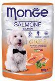 Monge Grill 100г с Лососем в паучах Влажный корм для собак Pouch with Salmone, фото 1