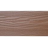 Террасная доска T-Decks Optima Classic пустотелая (дерево/ мелкий вельвет), фото 4
